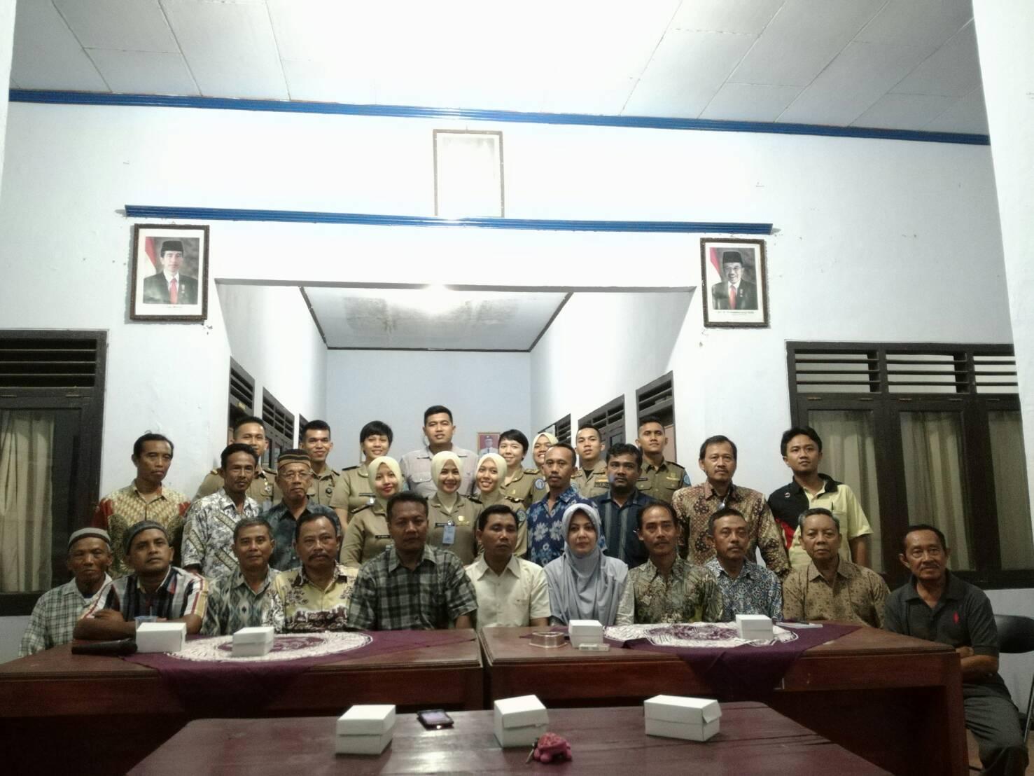 Kebersamaan Praja IPDN bersama Masyarakat Desa Losari